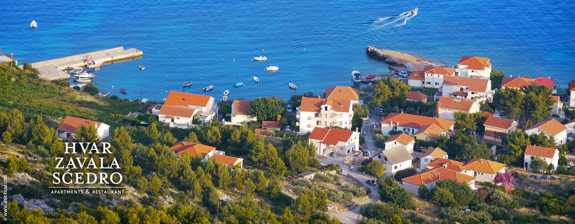 Discover Zavala on the south side of the island of Hvar